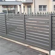 barvane ograje